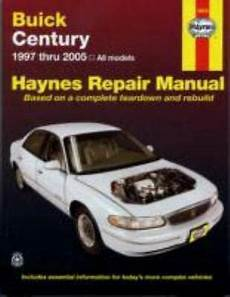 service manuals schematics 1997 buick century security system haynes repair manual buick century 1997 thru 2005 all models by max haynes 9781563926280 ebay
