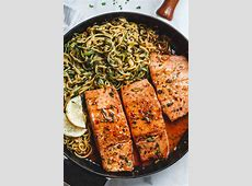baked salmon with cream sauce