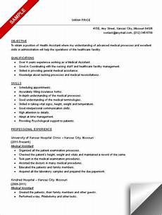 medical assistant resume sle limeresumes