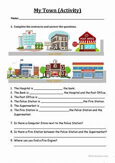 places around town worksheets 16029 backpack 2 my town worksheet worksheet free esl printable worksheets made by teachers