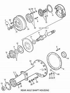 9n ford tractor brake diagram ford 8n rear axle shaft housing related