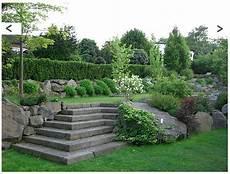 Garten Am Hang Ideen - ebenen im garten hanggarten garten gartenebenen und
