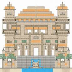 cool house plans minecraft minecraft blueprints layer by layer google search