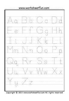letter tracing a z free printable worksheets