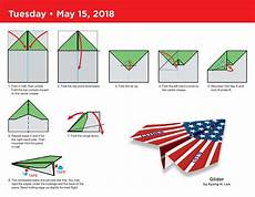 Paper Airplane Fold A Day 2018 Day To Day Calendar