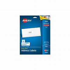 avery easy peel mailing address labels ave8160 shoplet com