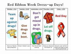 ranchview high school red ribbon week activities red ribbon week student council