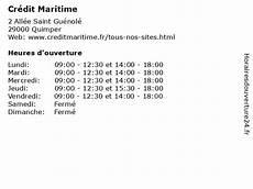 ᐅ Cr 233 Dit Maritime Horaires D Ouverture 2 All 233 E