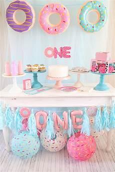 1st birthday decoration themes donut themed birthday idea