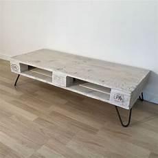 Table Basse En Palette Europe Blanche
