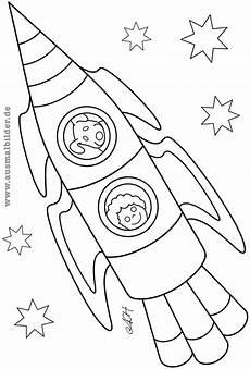 Ausmalbild Maus Rakete Pin Auf Kinder Basteln