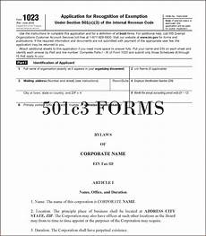 forming a 501c3 in illinois form resume exles