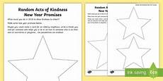 new year worksheets ks1 19342 ks1 random acts of kindness new year promises writing worksheet