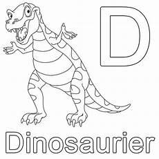 Ausmalbilder Buchstaben D Kostenlose Malvorlage Buchstaben Lernen D Wie Dinosaurier
