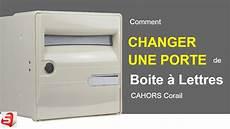 changer une porte de boite a lettres individuelle corail