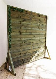 sichtschutz paravent garten balkon selber bauen anleitung