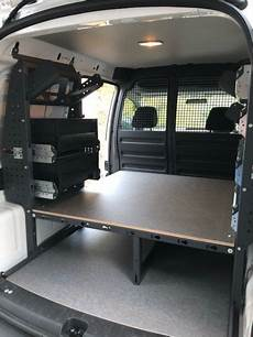 volkswagen caddy racking and shelving