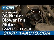 automotive air conditioning repair 1996 ford f250 electronic toll collection how to replace ac heater blower fan motor 80 96 ford f150 250 350 cp fun music videos