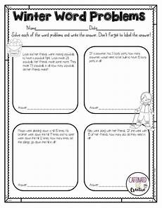 winter worksheets for second grade 19925 how to survive the winter holidays as a second grade word problems 3rd grade math