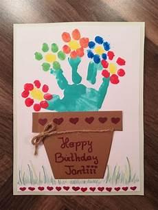 Geburtstagskarte Geburtstag Basteln Mit Kindern