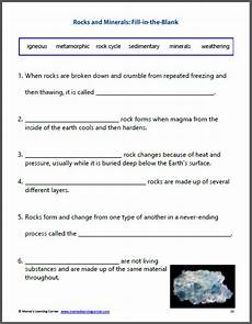 rocks and minerals unit study resource packet mamas learning corner
