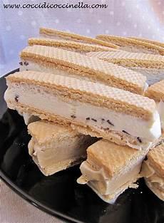 dolce con wafer ricetta wafer gelato cocci di coccinella