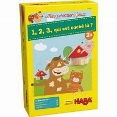 1 2 3 qui est cach 233 l 224 collection mes premiers jeux haba