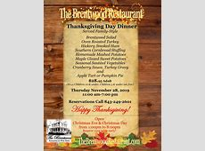 what's open on thanksgiving restaurants