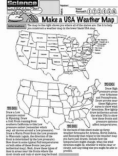 weather map worksheets for high school 14572 14 best images of weather worksheets for middle school weather map worksheet middle school
