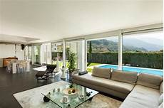 Modern Villa Beautiful Interiors Stock Image Image Of