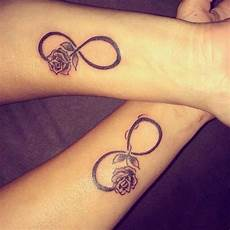30 Matching Ideas For Couples Infinity Tattoos