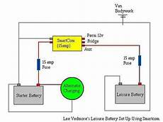 leisure battery charging system using smartcom vw t4 vw t5
