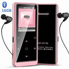 Bluetooth Lossless Player Audio by 16gb Bluetooth Mp3 Player With Touch Button Hommie Hifi