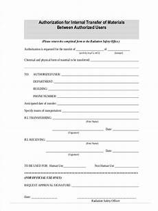 free 8 material transfer forms in pdf ms word