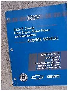service and repair manuals 1997 gmc 1500 club coupe head up display 1997 gmc p32 p42 chassis truck service manual front engine motor home comm u ebay