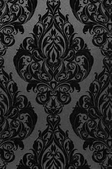 barock tapete schwarz tapete eshara in 2020 tapeten barock tapete und tapeten