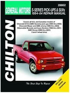 car manuals free online 1994 oldsmobile bravada seat position control chevy s series pick ups suvs gmc sonoma jimmy envoy isuzu hombre oldsmobile bravada