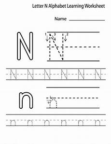 free letter n tracing worksheets 24168 free printable letter n worksheets for kindergarten preschool