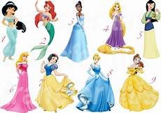 disney prinzessinnen liste disney princess sticker wall decal or iron on transfer t