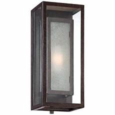 front sconces double box bronze finish 15 1 2 quot high outdoor wall light w8903 lsplus com