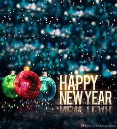 2019 happy new year family backgrounds vinyl colorful christmas balls bokeh blue