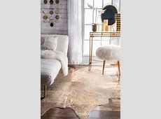 Rug: Unique And Beautiful Ikea Cowhide Rug For Your Cozy