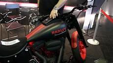 Harley Mit Blubber Sound Motorrad Messe Dortmund