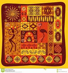 Afrikanische Muster Malvorlagen Xing Afrikanisches Muster Stockfoto Bild 25356640