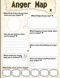 cbt mapping worksheets 11527 anger map worksheet free printable therapy worksheets