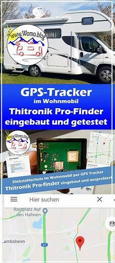 diebstahlschutz gps tracker thitronik pro finder im