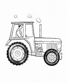 malvorlagen fur kinder ausmalbilder traktor kostenlos