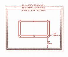 9 Foot Billiards Pool Table Dimensions Drawings