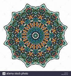 Arabische Muster Malvorlagen Bilder Blume Mandala Vintage Dekorative Elemente Orientalische