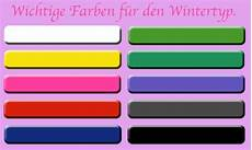 wichtige farben f 252 r den wintertyp winter typ